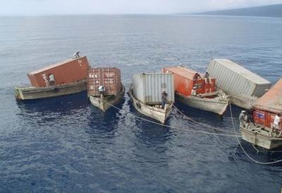 Доставка отделочных материалов из ПВХ контейнерами